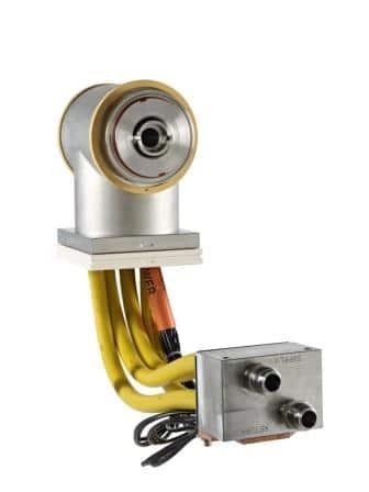 Sputter equipment: vac mag end block